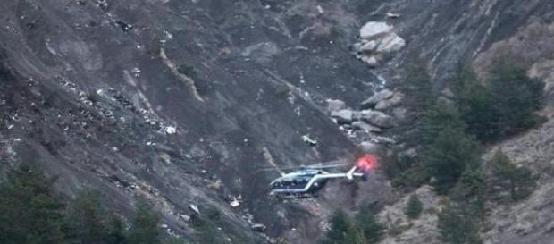 Miejsce katastrofy Airbusa Germanwings w Alpach