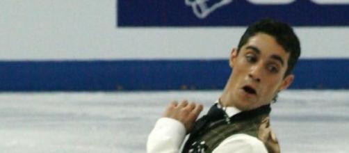 El patinador Javier Fernández.