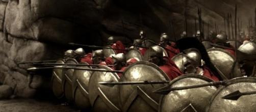 Gladiadores dos filmes sobre guerras