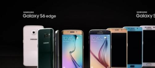 Smartphone: Samsung Galaxy S6 Edge e Galaxy S6.
