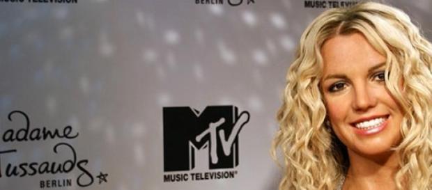 Britney Spears als Wachsfigur bei Madame Tussauds.