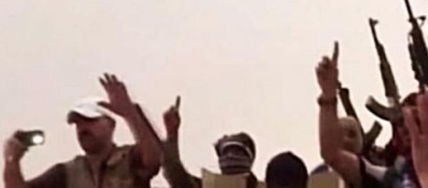 Dżihadyści z Iraku, screen Youtube