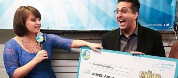Joseph Amorese si-a revendicat premiul