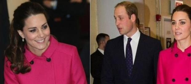 Kate usou o mesmo casaco da grife Mulberry