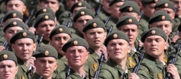 Rosyjscy żołnierze - źródło FB