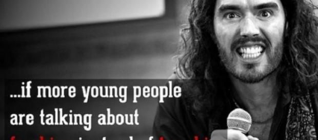 Russell Brand rated among the top world thinkers