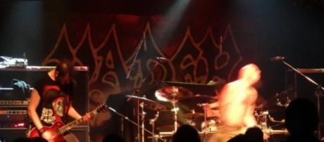 Shredhead na abertura para Vader - Paradise Garage