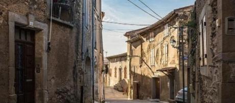 Una calle de Béziers (Sudeste de Francia).