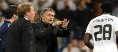 Adebayor foi treinado por Mourinho no Real Madrid