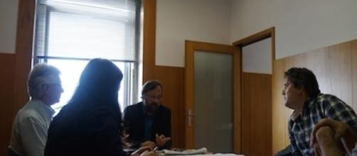 Luís Marques reuniu com o vereador Miguel Bandeira