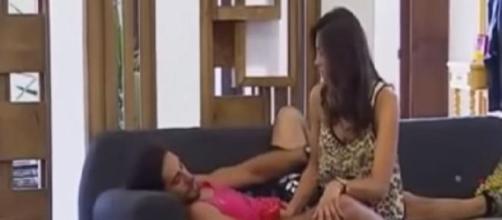 Pedro y Romina ya no concursan como pareja