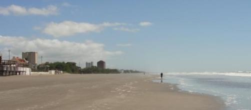 Playa de la ciudad de San Bernardo