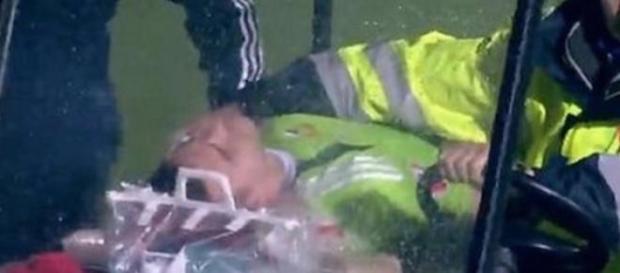 Akinfeev hospitalizado com contusão cerebral