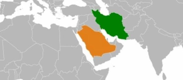 Arábia Saudita e Irão, frente a frente