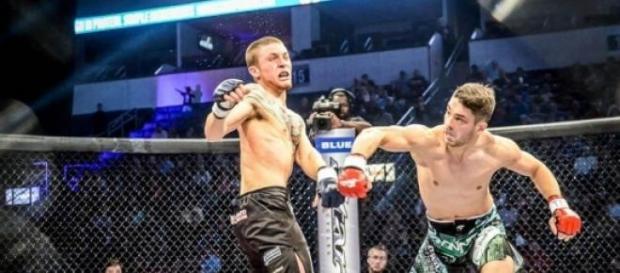 George Pacurariu invingand prin KO