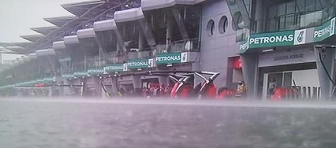 Gran Premio de Malasia, una clasificación marcada por la lluvia.