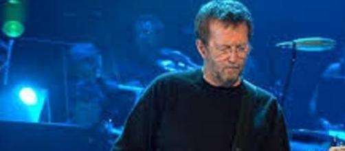 Imagem da lenda viva Eric Clapton
