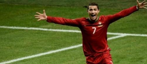 Ronaldo é feliz a representar Portugal.