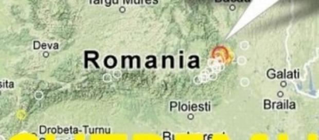 Cel mai mare cutremur din Romania!
