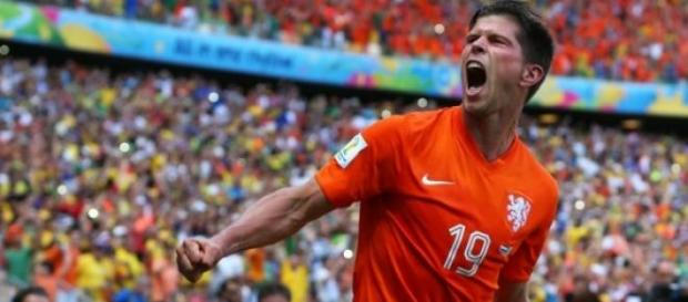 Huntelaar a adus 1 punct pentru Olanda