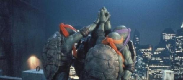 Imagen de la película Tortugas Ninja