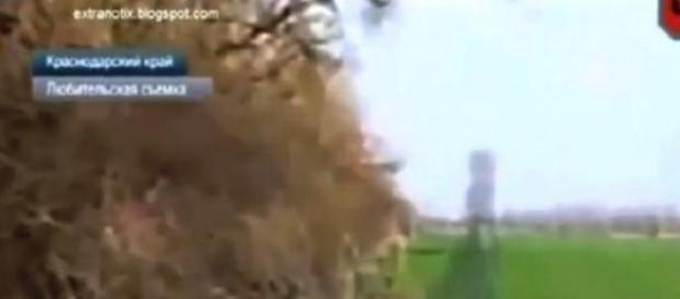 Russia: apparizione  di un fantasma in video
