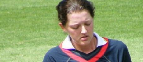 Sarah Taylor was the player of the series