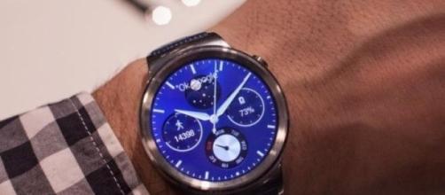 El Huawei Watch es realmente, elegante.