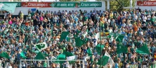 Grada Sur del estadio del Real Betis