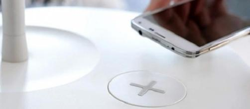 IKEA furniture allows smartphone charging
