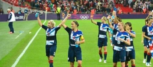 Women's football was popular at London 2012
