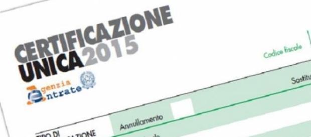Certificazione Unica 2015 a dipendenti e autonomi
