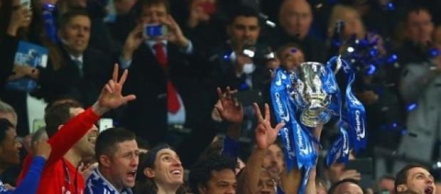 Chelsea lifted the Capital One Cup