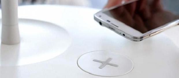 IKEA furniture allows smartphone charging