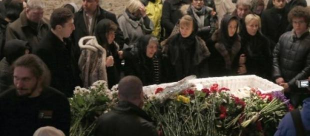 Inmormantarea lui Boris Nemtov