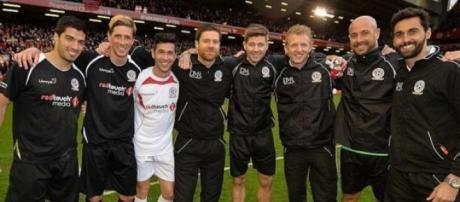 Torres, Suarez e Alonso voltaram a Anfield