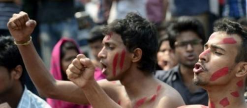 Manifestações pela morte de Avijit Roy