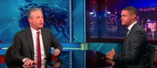 Trevor Noah esteve três vezes no 'The Daily Show'.