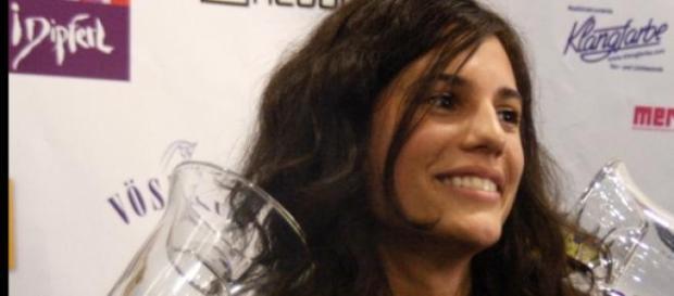 Anna F. als Gewinnerin der Awards 2010.
