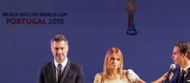 Baía e Nuno Gomes são os embaixadores do Mundial