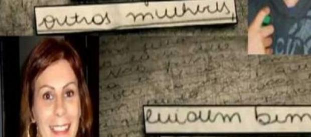 Carta deixada por Odilaine Uglione pode ser falsa.