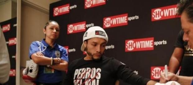 Jhonny González antes de enfrentar a Rusell