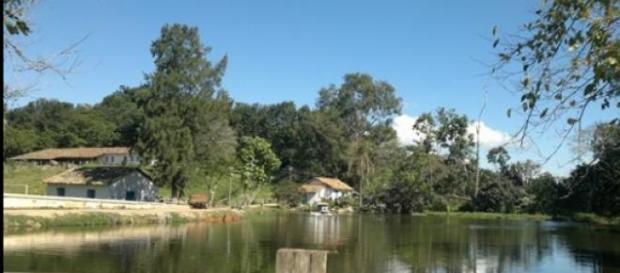 Reservatório de água em Campinas SP