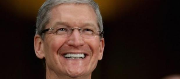 Tim Cook, diretor da Apple.