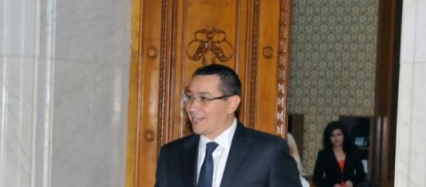 Victor Ponta, ajuns in Parlament!