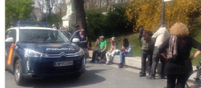 Idoso é preso em Madrid: afinal, a lei da mordaça é para ser levada a sério