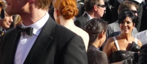 Kris Jenner en uno de sus eventos públicos