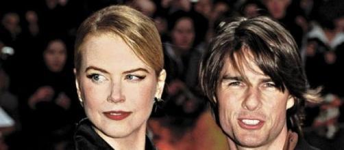 Nicole Kidman e Tom Cruise divorciaram-se em 2001