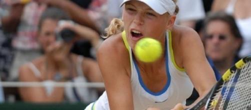 Wozniacki crashed out of the Miami Open to Venus