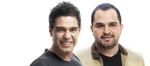 Zezé di Camargo e Luciano fizeram show na Bahia.